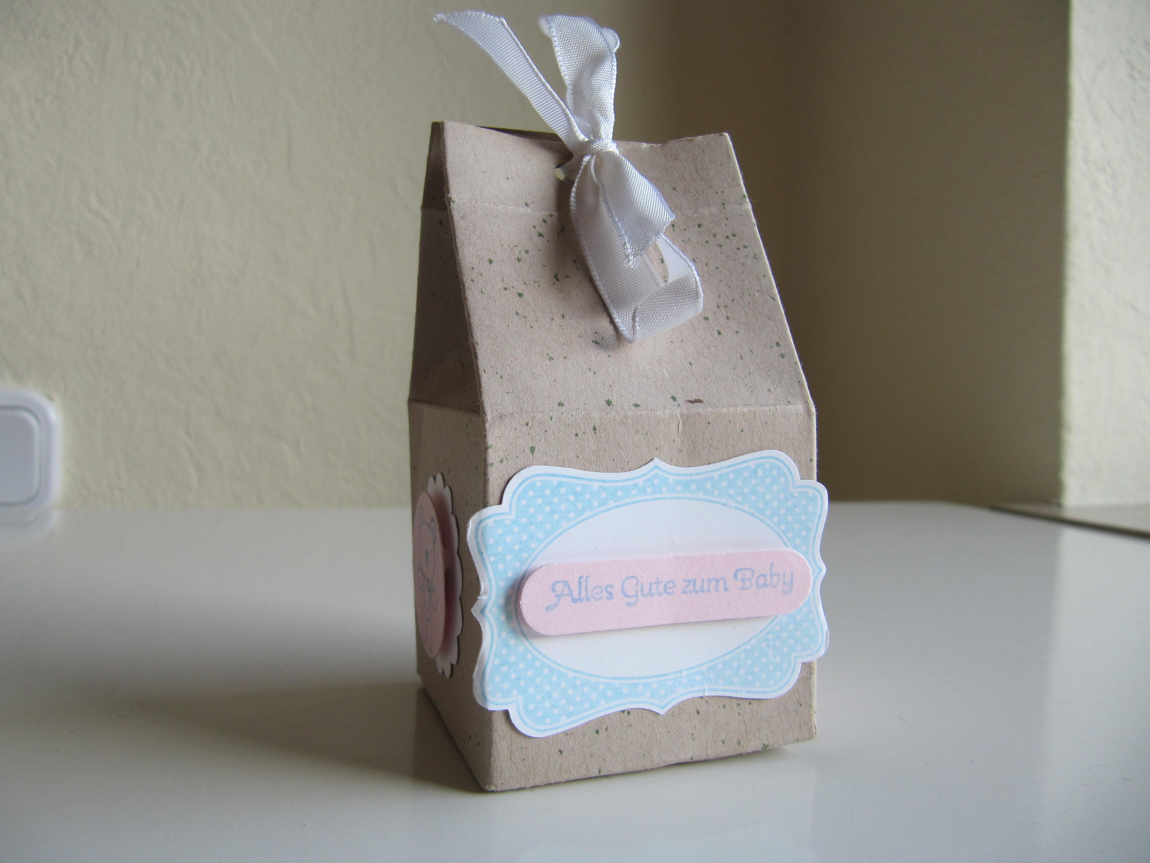 stampin up geschenkverpackung f r s baby stempelfreundin. Black Bedroom Furniture Sets. Home Design Ideas