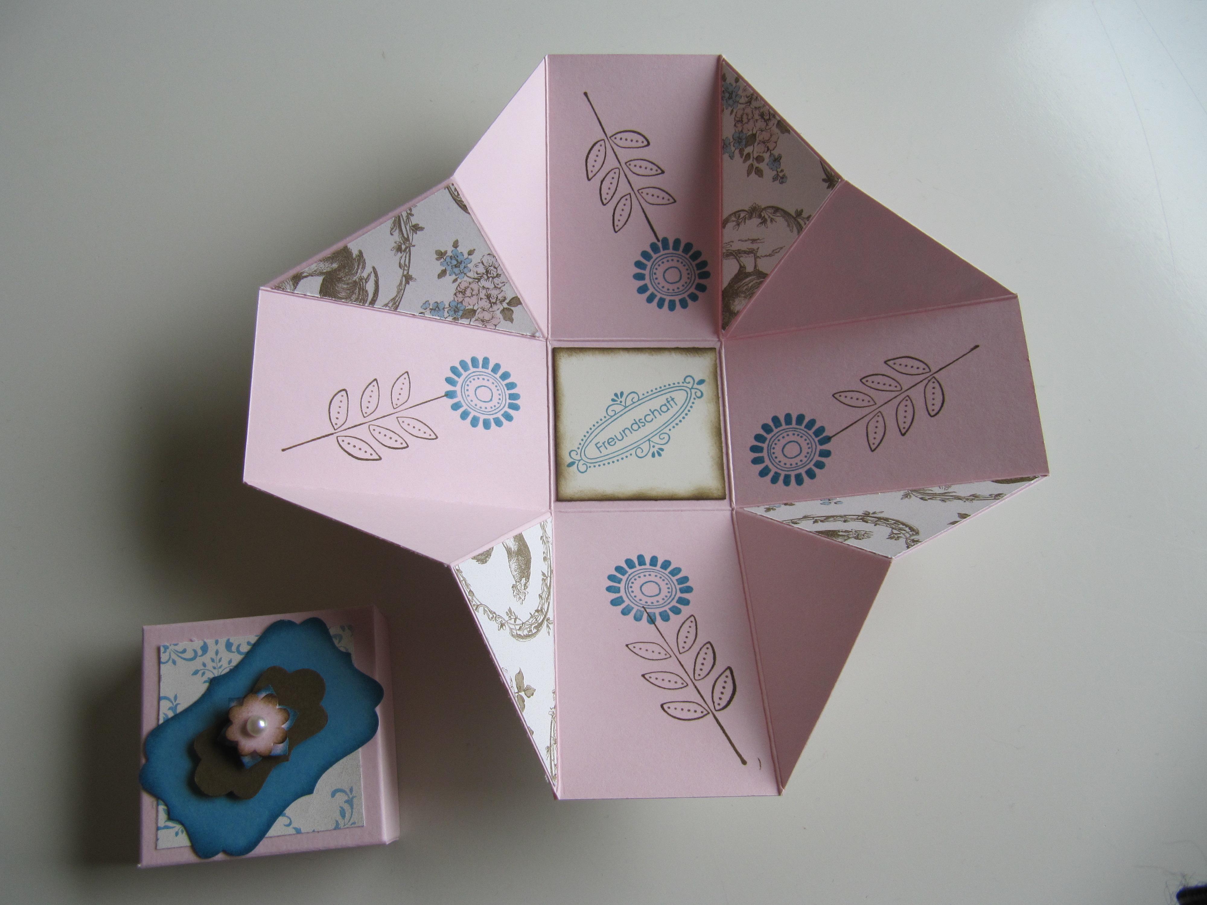 stampin up box mit deckel stempelfreundin. Black Bedroom Furniture Sets. Home Design Ideas