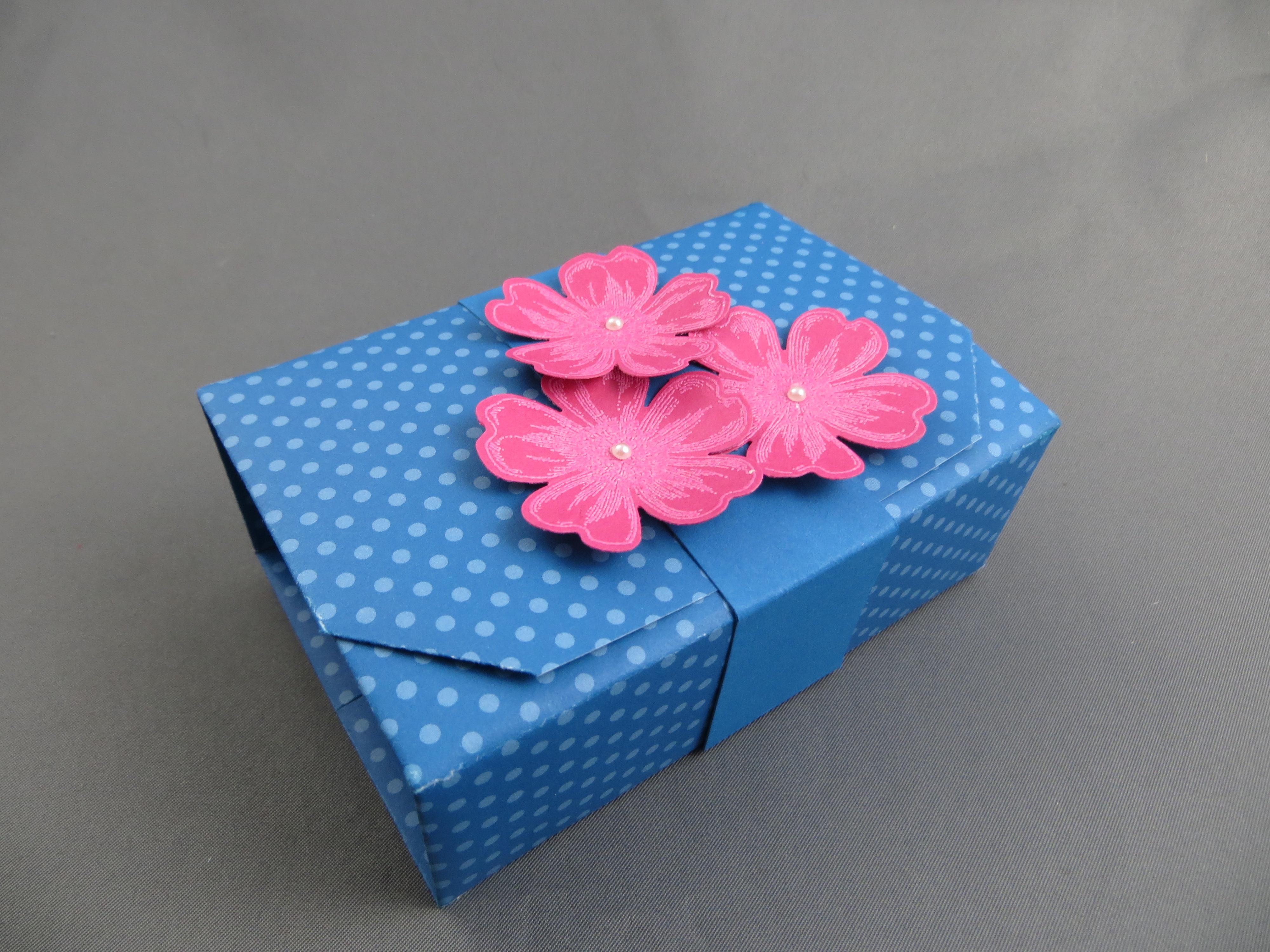 stampin up origami box stempelfreundin. Black Bedroom Furniture Sets. Home Design Ideas